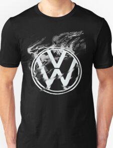 VW on fire Unisex T-Shirt