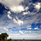 Clouds - Glasshouse Mountains by Ken Jones