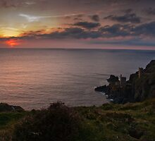 Crown Mines Botallack  by Simon Marsden