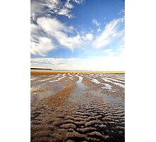 Low  Tide - Hervey Bay Photographic Print