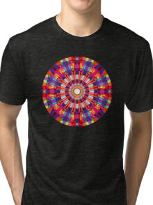 Finifugal Mandala Tri-blend T-Shirt