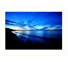 Twilight - Hervey Bay Art Print
