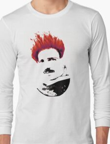 Nicola Tesla Punk Tea Long Sleeve T-Shirt