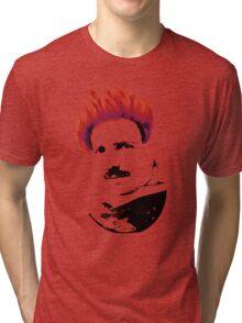 Nicola Tesla Punk Tea Tri-blend T-Shirt