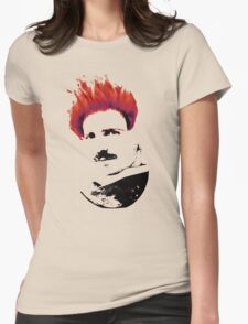 Nicola Tesla Punk Tea Womens Fitted T-Shirt