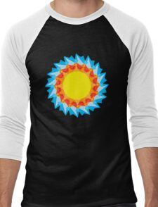 Vector Sunshine Men's Baseball ¾ T-Shirt