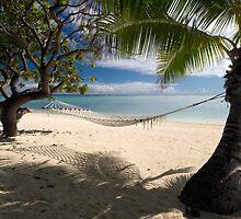 Relax - Aitutaki by Michael Treloar