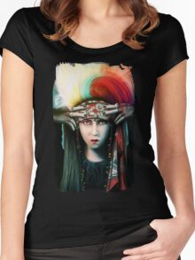 Visual Shock Women's Fitted Scoop T-Shirt