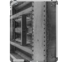 Bridge over the Weaver - Black and White iPad Case/Skin