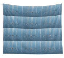 Ripples and Circles – Red-Necked Grebe Wall Tapestry