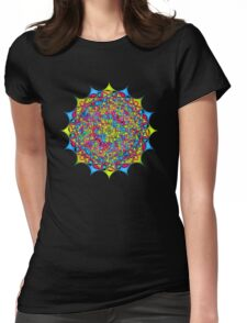 Inside The Bone of a Rainbow Womens Fitted T-Shirt