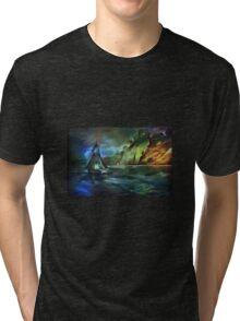 Blue moon... Tri-blend T-Shirt