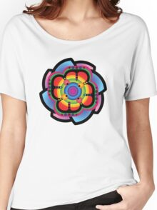 Cool Flower Thing Women's Relaxed Fit T-Shirt