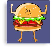 Yeah Burgers! Canvas Print