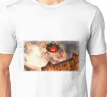 UFO - Over Stately Home by Raphael Terra Unisex T-Shirt