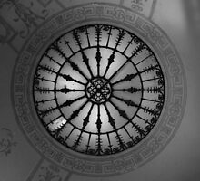 Ceiling Rose by Celia Strainge