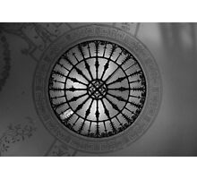 Ceiling Rose Photographic Print