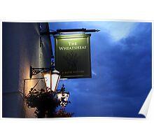 The Wheatsheaf Inn, Ingleton Poster