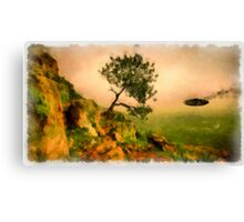 UFO - In Distress by Raphael Terra Canvas Print