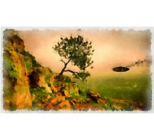 UFO - In Distress by Raphael Terra Photographic Print