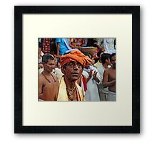The Priest Framed Print