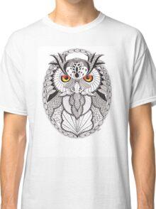 Ornate Owl Classic T-Shirt