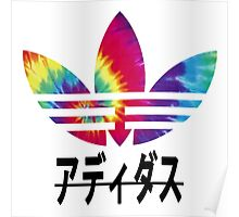 Tie Die Adidas Poster