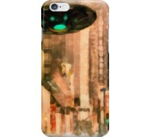 UFO - In The City by Raphael Terra iPhone Case/Skin