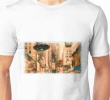 UFO - In The City by Raphael Terra Unisex T-Shirt
