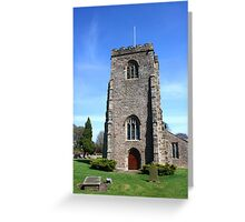 St Wilfrid's Church, Ribchester Greeting Card