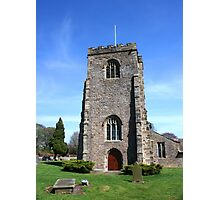St Wilfrid's Church, Ribchester Photographic Print