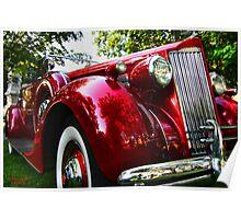 """"""" 1937 Packard """" Poster"""