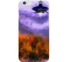 UFO - Landing by Raphael Terra iPhone Case/Skin