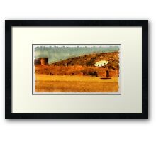 UFO - Searching by Raphael Terra Framed Print