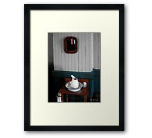 Gentleman's Washstand Framed Print