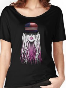 World Rebellion 2015 - USA Women's Relaxed Fit T-Shirt