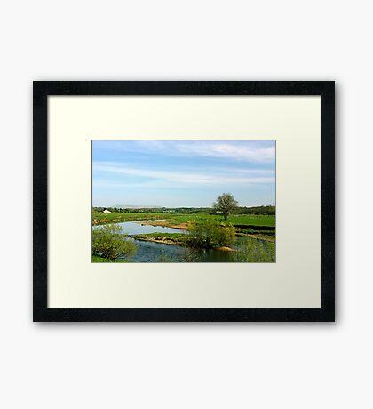 River Ribble, Ribchester Framed Print