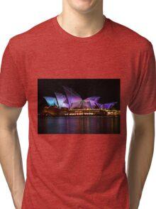 Sydney Vivid Festival 2011 - Opera House Tri-blend T-Shirt