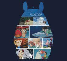 Totoro-Hayao Miyazaki Films T-Shirt