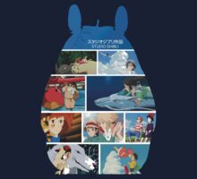 Totoro-Hayao Miyazaki Films Kids Clothes