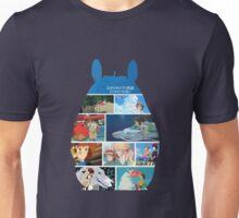 Totoro-Hayao Miyazaki Films Unisex T-Shirt