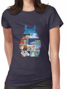 Totoro-Hayao Miyazaki Films Womens Fitted T-Shirt