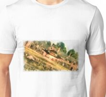 UFO - Visiting Her Majesty by Raphael Terra Unisex T-Shirt