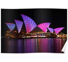 Sydney Vivid Festival 2011 - Opera House Poster