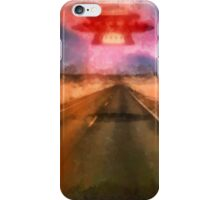 UFO - On the Road by Raphael Terra iPhone Case/Skin