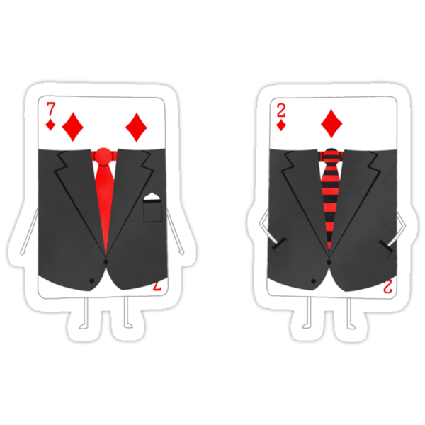 Suited Cards by Teo Zirinis