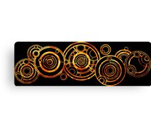 Doctor Who - The Doctor's name in Gallifreyan #2 Canvas Print