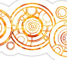 Doctor Who - The Doctor's name in Gallifreyan #2 Sticker