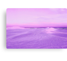 Lancelin Sand Dunes At Dusk  Canvas Print