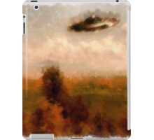 UFO - In The Countryside by Raphael Terra iPad Case/Skin